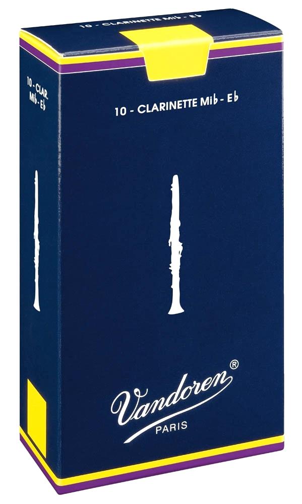 Vandoren TRADITIONAL CR111 - Plátky na Eb klarinet