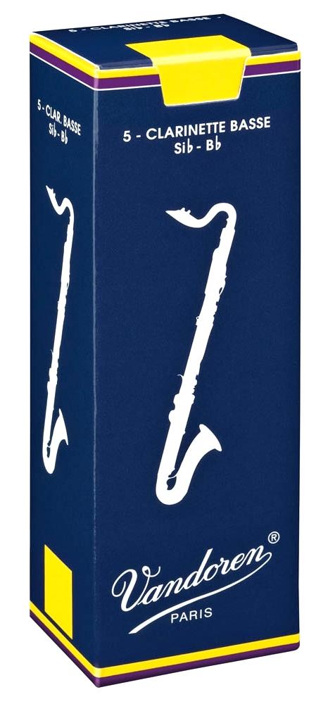 Vandoren TRADITIONAL CR121 - Plátky na basklarinet
