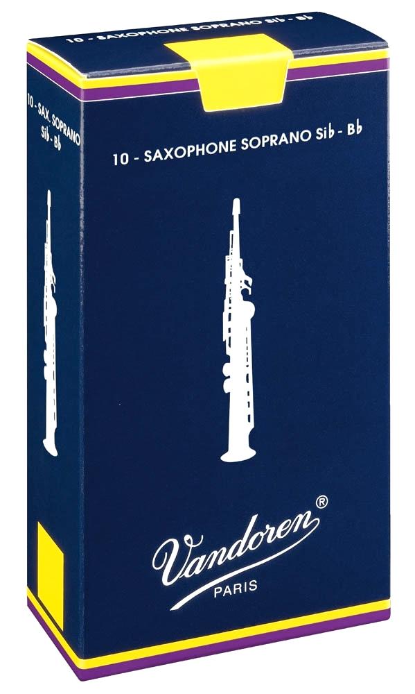 Vandoren TRADITIONAL SR203 - Plátky na soprán saxofon