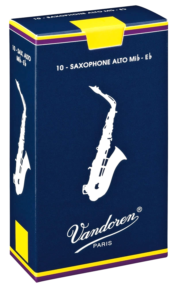 Vandoren TRADITIONAL SR2125 - Plátky na alt saxofon
