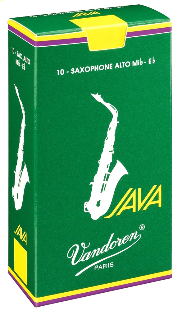 Vandoren JAVA SR262 - Plátky na alt saxofon