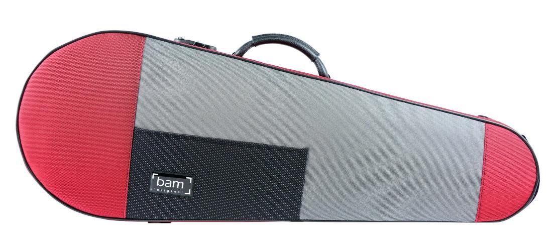BAM STYLUS CONTOURED červené Violové pouzdro
