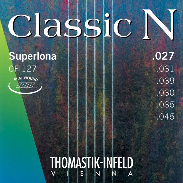 Thomastik CLASSIC N CF127 - Nylonové struny na kytaru - sada
