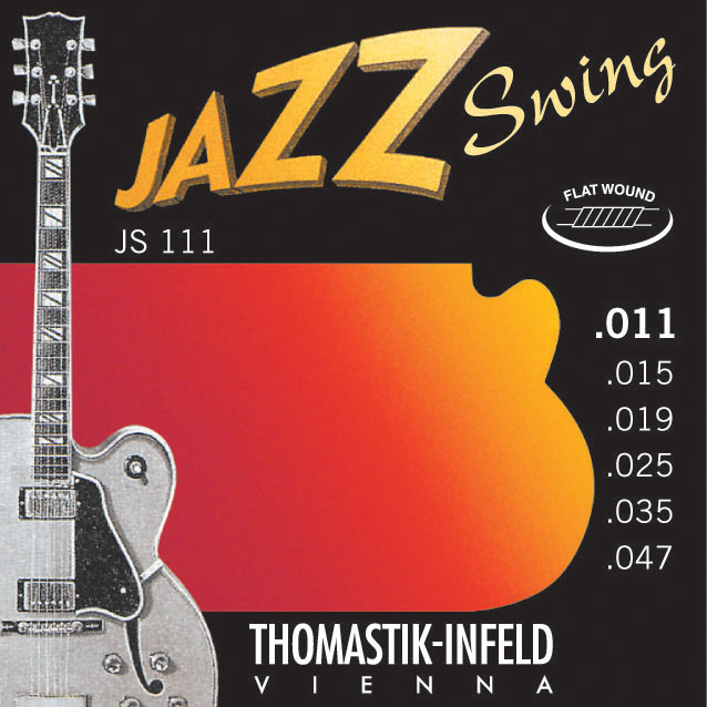 Thomastik JAZZ SWING JS111 - Struny na jazzovou kytaru -sada