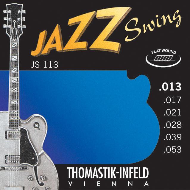 Thomastik JAZZ SWING JS113 - Struny na jazzovou kytaru -sada