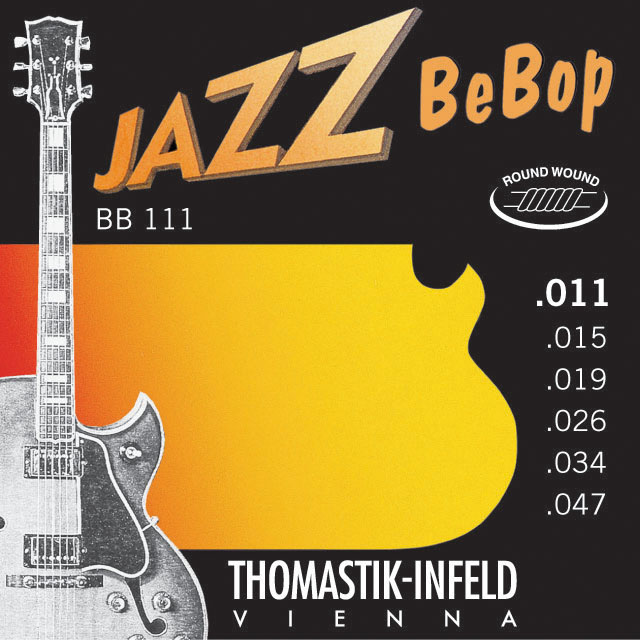 Thomastik JAZZ BEBOP BB111 - Struny na jazzovou kytaru -sada