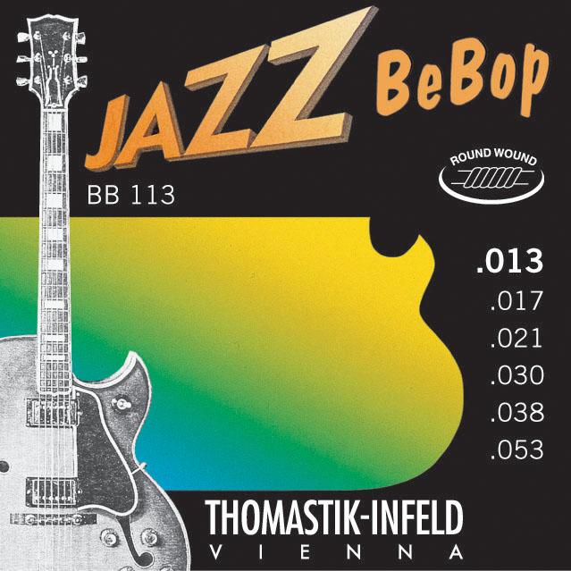 Thomastik JAZZ BEBOP BB113 - Struny na jazzovou kytaru -sada