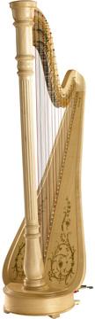 Lyon & Healy CHICAGO CE Extended - Pedálová harfa