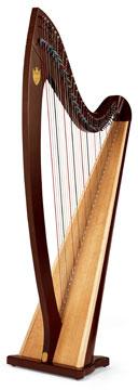 Lyon & Healy TROUBADOUR VI - Háčková harfa