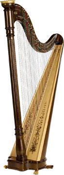 Lyon & Healy PRELUDE - Háčková harfa