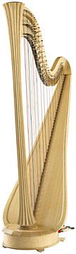 Lyon & Healy STYLE 2000 - Elektroakustická pedálová harfa