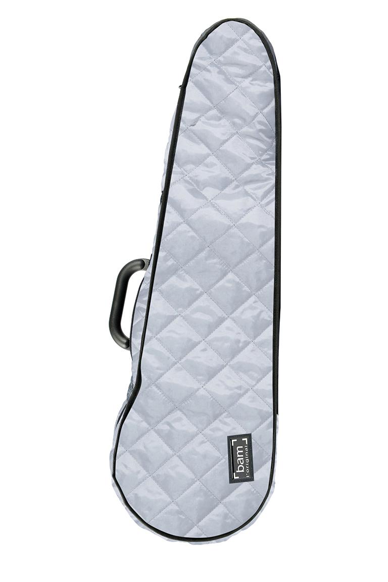 BAM Hoodie šedá tvarovaná na houslové pouzdro