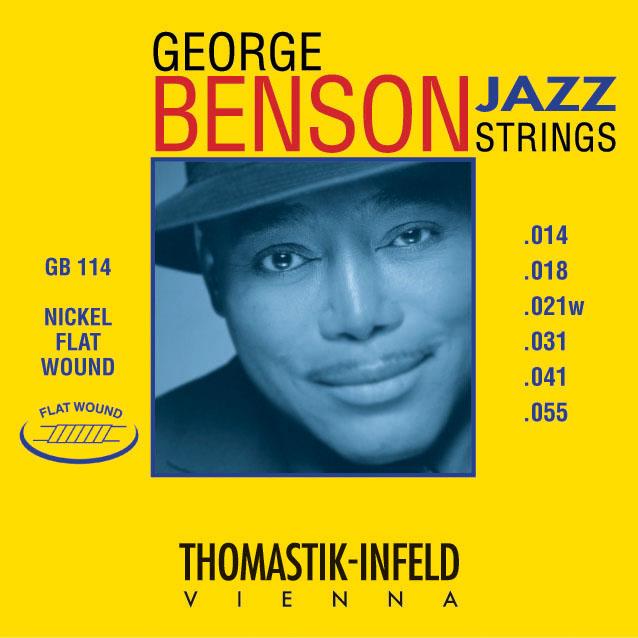 Thomastik GEORGE BENSON GB114 - Struny na jazzovou kytaru -sada