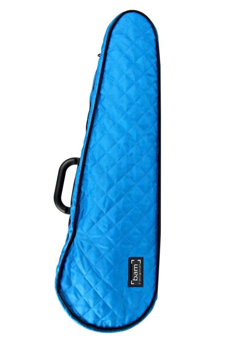 BAM Hoodie modrá tvarovaná na houslové pouzdro