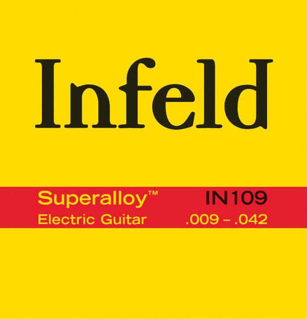 THOMASTIK INFELD SUPERALLOY 009 IN109 Struny na elektrickou kytaru - sada