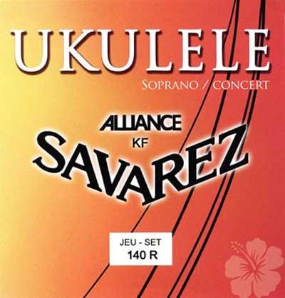 Savarez UKULELE 140R (sopran) - Struny pro ukulele