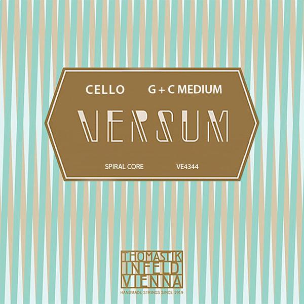 Thomastik VERSUM (G+C) VE4344 - Struny na violoncello - sada 2 strun