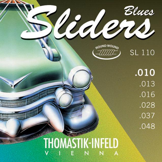Thomastik SLIDERS BLUES SL110 - Struny na elektrickou kytaru - sada