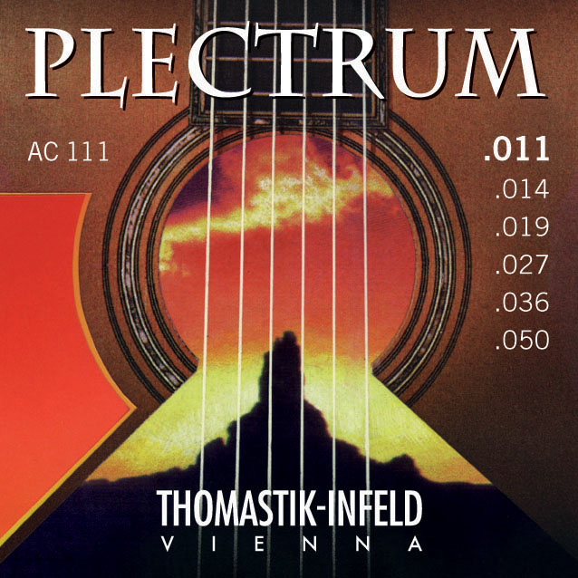 Thomastik PLECTRUM AC111 - Struny na akustickou kytaru - sada
