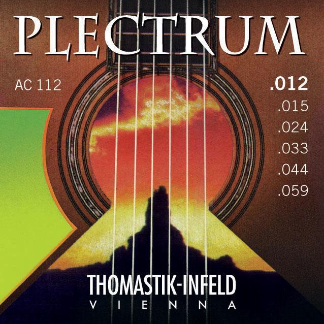 Thomastik PLECTRUM AC112 - Struny na akustickou kytaru - sada
