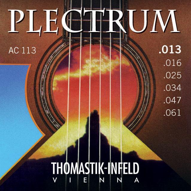 Thomastik PLECTRUM AC113 - Struny na akustickou kytaru - sada