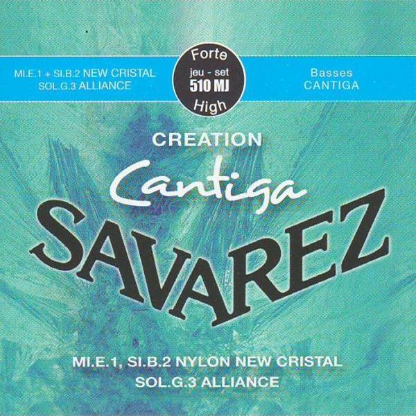 Savarez CANTIGA CREATION 510MJ - Nylonové struny na kytaru - sada
