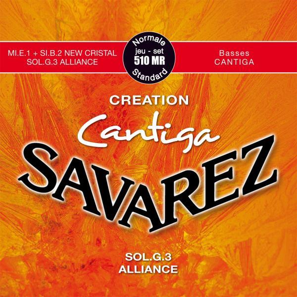 Savarez CANTIGA CREATION 510MR - Nylonové struny na kytaru - sada