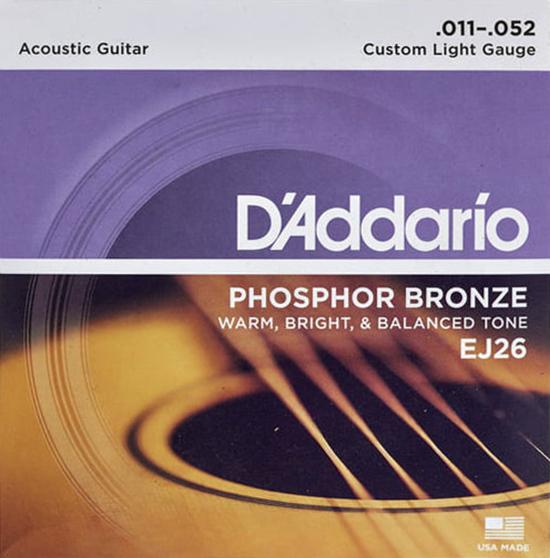 D'Addario EJ26 - Struny na akustickou kytaru - sada
