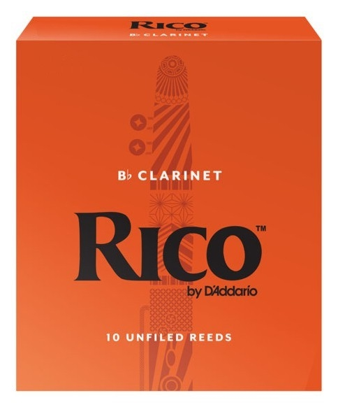 D'Addario RICO RCA1035 - Plátky na Bb klarinet (3,5)