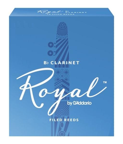 D'Addario ROYAL RCB1025 - Plátky na Bb klarinet (2,5)