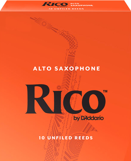 D'Addario RICO RJA1025 - Plátky na alt saxofon (2,5)