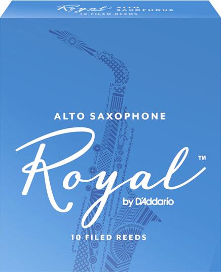 D'Addario ROYAL RJB1025 - Plátky na alt saxofon (2,5)