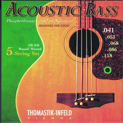 Thomastik ACOUSTIC BASS AB345 - Struny na baskytaru - sada
