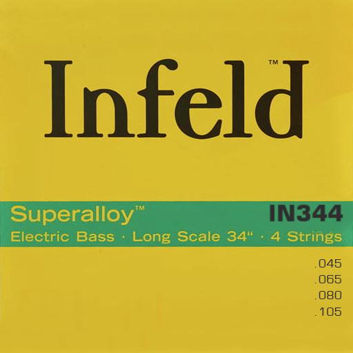 Thomastik INFELD SUPERALLOY IN344 - Struny na baskytaru - sada