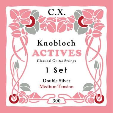 Knobloch ACTIVES CX CARBON 300KAC - Nylonové struny na kytaru - sada