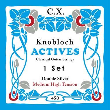 Knobloch ACTIVES CX CARBON 450KAC - Nylonové struny na kytaru - sada