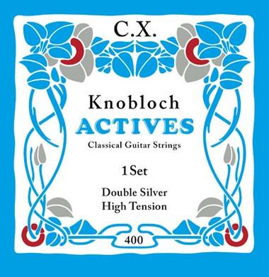 Knobloch ACTIVES CX CARBON 400KAC - Nylonové struny na kytaru - sada