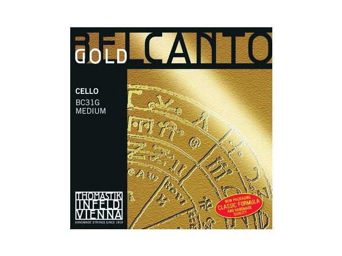529 thomastik belcanto gold set bc31g