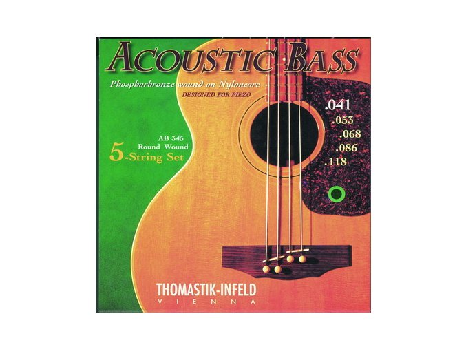 808 thomastik acoustic bass ab344