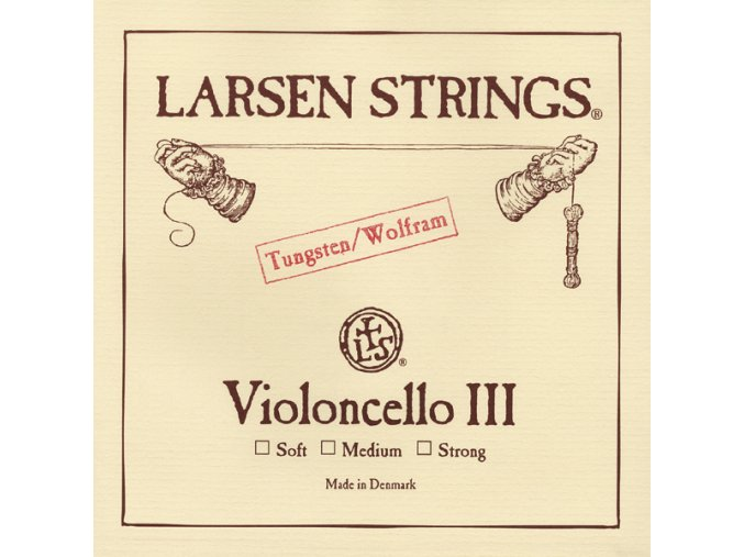 1945 larsen original violoncello g