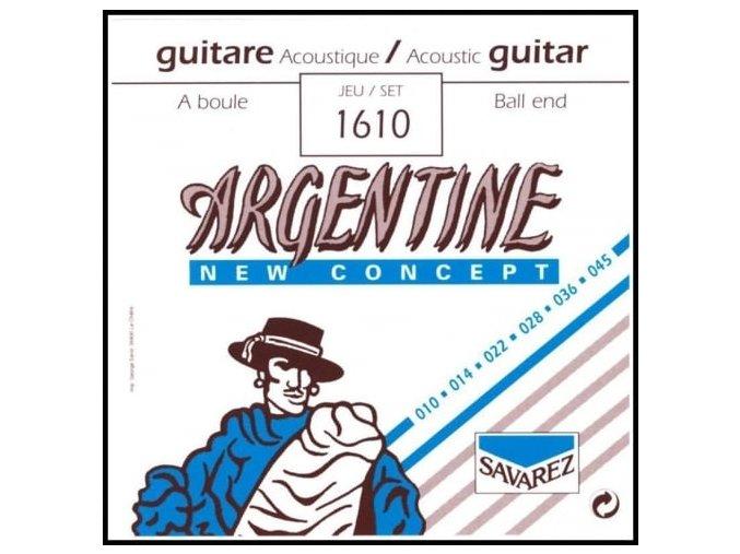 savarez 1610 argentine new concept ball end guitar strings 10 45 extra light tension p521 17043 medium