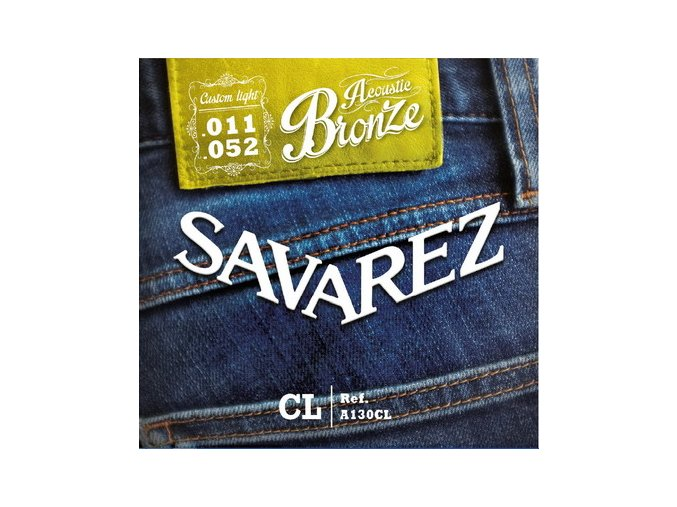 2146 savarez acoustic a130cl bronze