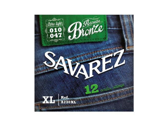 2155 savarez acoustic a230xl bronze