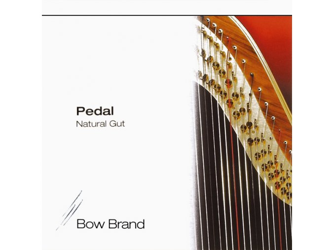 2323 1 bow brand pedal natural gut set 2 oktava