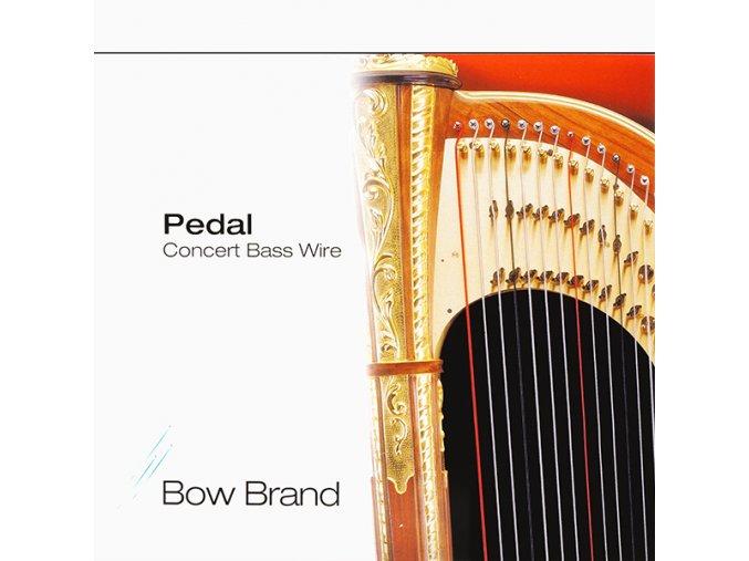 2443 1 bow brand no 43 pedal bass wire e 7 oktava