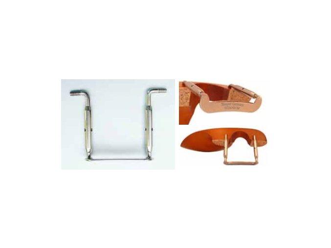 2650 1 tempel clamps 36 mm viola