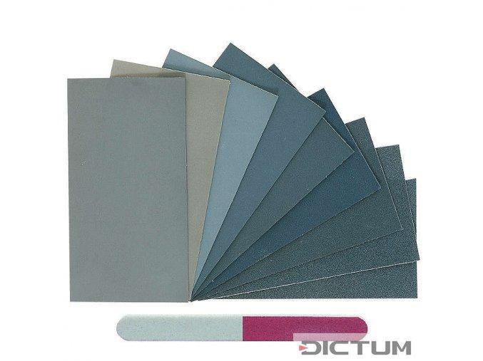 Dictum 705115 - Micro-Mesh® MM Assortment, 11-Piece Set