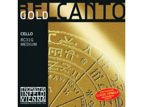 541 thomastik belcanto gold c bc33g