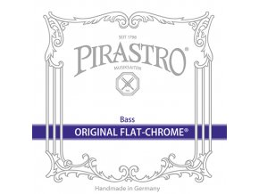 1444 pirastro original flat chrome set solo 347000