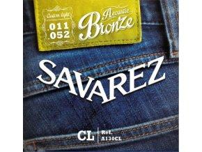 2146 savarez acoustic a130cl bronze